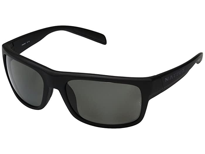 Native Eyewear Ashdown (Matte Black) Sport Sunglasses