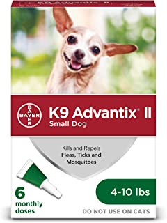 K9 Advantix II for Dogs 10 Pounds and Under - 6 Count