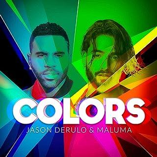 Vscdye Jason Derulo & Maluma Couleurs Musique Artiste Couverture Album Affiches et Impressions Art Toile Peinture décor Ar...