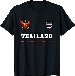 Thailand T-shirt Sport/Soccer Jersey Tee Flag Football