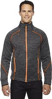 Ash City - North End Sport Red North End Flux Men's Melange Bonded Fleece Jacket, CRBN/Or SODA 482, XXX-Large