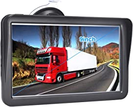 GPS Navigation for Car, HD Touch 9-inch 8GB GPS Navigator, Voice Traffic Warning, Driving Alarm, Sun Visor and Lifetime Free Update Map