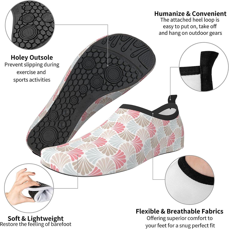 Japan Art Flower Men's Women's Water Shoes Barefoot Quick Dry Slip-on Aqua Socks for Yoga Beach Sports Swim surf