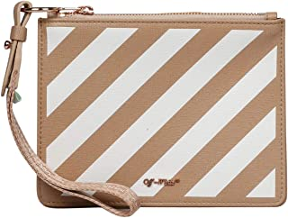 Luxury Fashion | Off-White Womens OWNA048E194231070301 Beige Clutch | Fall Winter 19