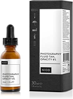 NIOD Photography Fluid Tan, Opacity 8%, this effort is
