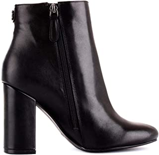 Guess Luxury Fashion Womens FL8LAALEA10BLACK Black Ankle Boots | Fall Winter 19
