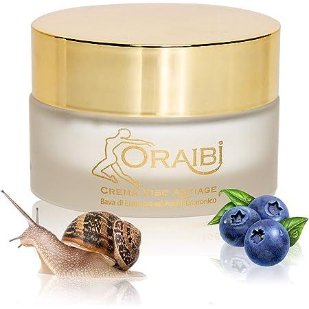 Oraibi® Crema Baba De Caracol Hidratante Facial Con Ácido ...