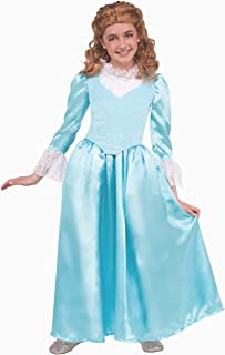 Blue Colonial Lady Child Costume (Small)-