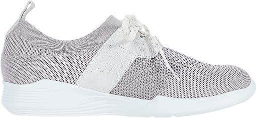 Grey Sock/White Outsole