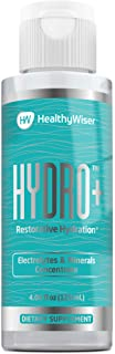 Electrolyte Supplement – Rapid Hydration Drops - Perfect for Keto Diet with Minerals, Magnesium, Potassium, Zinc- Sugar Fr...