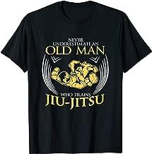OLD MAN TRAINS JIU JITSU jiu jitsu t shirt Promotion T-Shirt