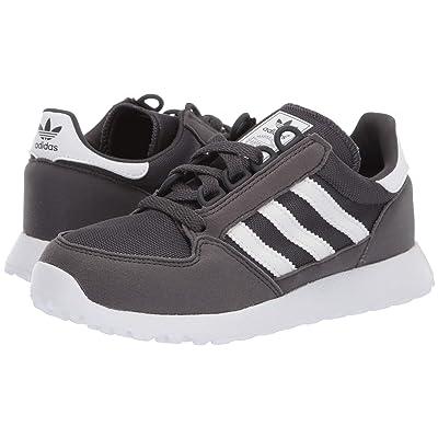 adidas Originals Kids Forest Grove C (Little Kid) (Grey/White) Boys Shoes