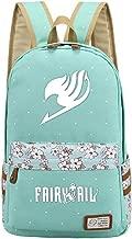 YOYOSHome Luminous Japanese Anime Cartoon Cosplay Bookbag College Bag Backpack School Bag (Fairy Tail)