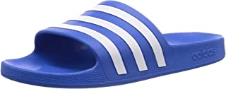 adidas Adilette Aqua, Unisex Adults Slides, Blue (True Blue/Ftwr White/True Blue), 8 UK (42 EU)