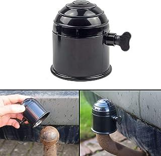 Universal Anhängerkupplung Schutzkappe, mit Schraube zur Sicherung, für Kugelkopfkupplungen bis 50 mm Durchmesser, ABS Hartplastik, Witterungsbeständig und Waschanlagen fest, Erosionsschutz, schwarz