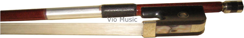 New sales Vio Music #980 Full Size Raleigh Mall 4 Bow Carbon Cello Hybrid Fiber Per