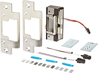 HES 10720403 Faceplate for Electric Strike 8000 Series Complete Pac (8000c) for Cylindrical Locksets in Metal, Concealed, Satin Stainless