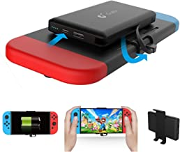 Power Bank for Nintendo Switch - Portable Extended Battery Charger Case - Compact Travel Backup Battery Pack for Nintendo Switch