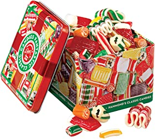 Old Fashioned Christmas Holiday Classics Mix Hard Candy in Decorative Tin - 16 oz.