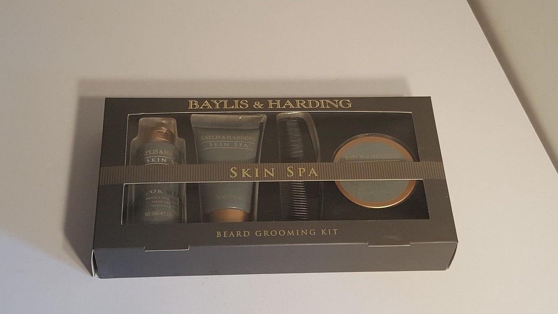 Baylis&Hardingメンズスキンスパグルーミングキットには、シャンプー100ml、洗顔100ml、ひげバーム50ml、くしが含まれています。