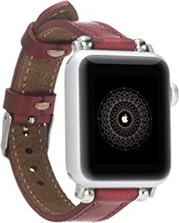 Solo Pelle Leather Bracelet Lady Slim for The Apple Watch Series 1-4 I Bracelet for The Original Apple Watch 1, 2, 3 and 4...