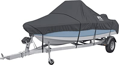 "Classic Accessories StormPro Heavy Duty Boat Cover For Center Console Boats, Fits 16-18.5' Long, up to 98"" Wide"
