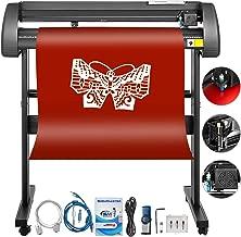 Mophorn Vinyl Cutter 34 Inch Vinyl Cutter Machine 870mm Vinyl Printer Cutter Machine LCD Display Vinyl Plotter Cutter Machine Signmaster Software Sign Making Machine with Stand