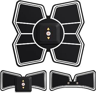 SLOTRE EMS 腹筋 ベルト 充電式 お腹 腕 セット 9段階調節 6モード 日本語説明書付き 最新版