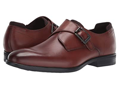 Kenneth Cole Reaction Edge Flex Monk (Cognac) Men