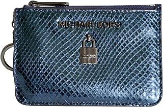 c85d3d0d8c82 Michael Kors Adele Small Top Zip Coin Pouch ID Card Case Wallet