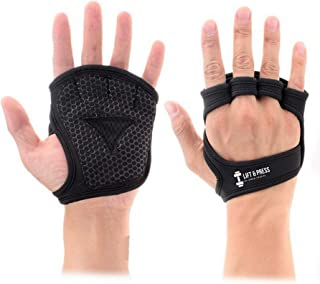 Omen Sports New Workout Gloves| Lifting Gloves | Gym Grip Pads for Weight Lifting Training, Pull Up Exercise&Cross Training | Anti-Slip Barehand Grips&Lifting Pads | Suit Men and Women