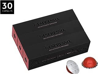Nespresso VertuoLine Decaf Ontuoso Gran Lungo, Light, 30 Capsules