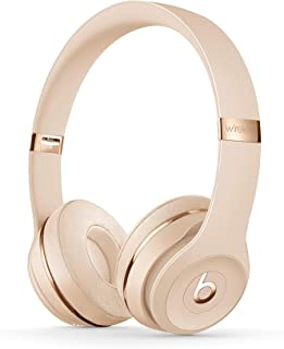 Beats Solo3 Wireless On-Ear Headphones - Apple W1 Headphone Chip, Class 1 Bluetooth, 40 Hours Of Listening Time - Satin Go...