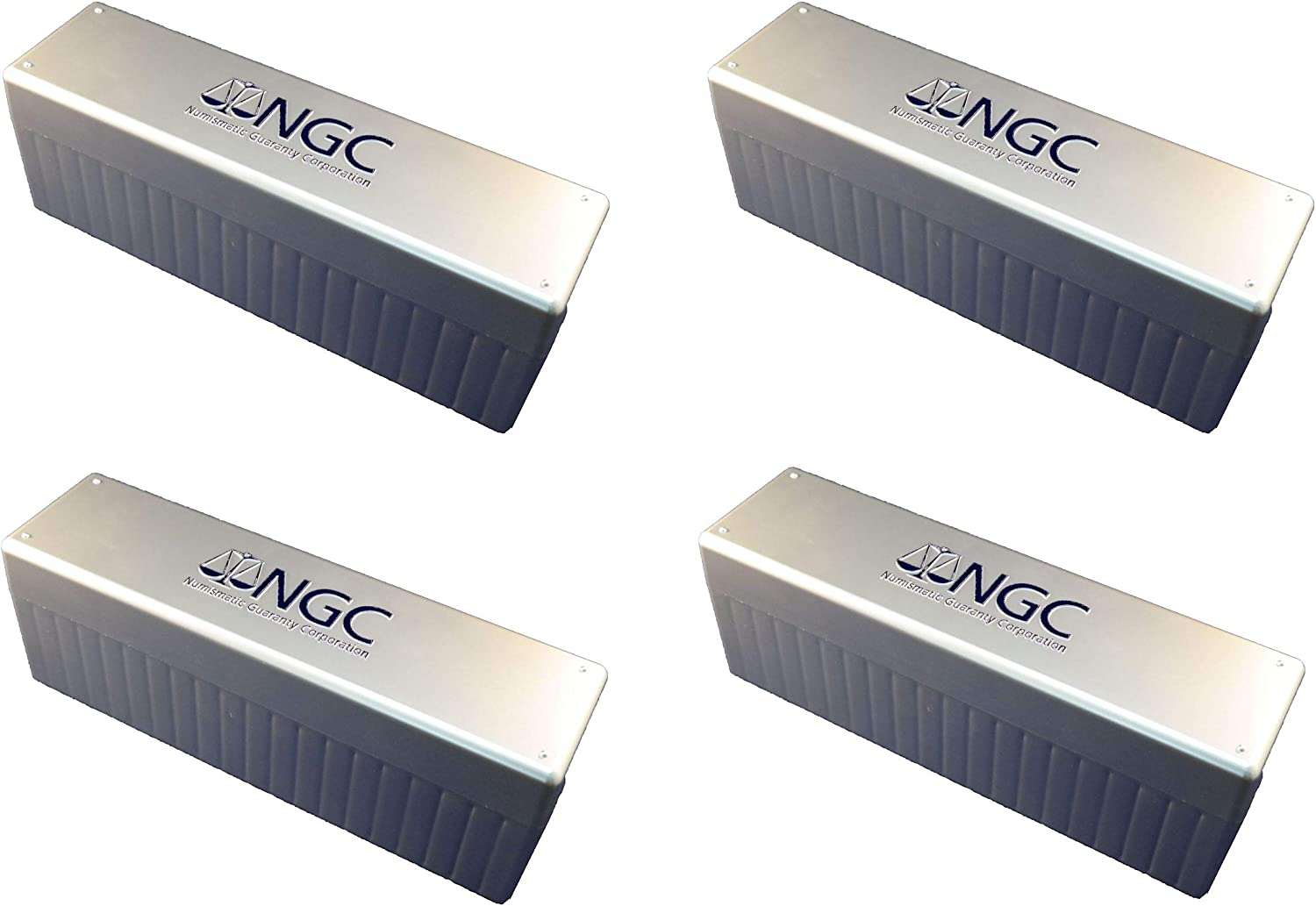 NGC Plastic Storage Box for 20 Slab Coin Holders Four Pack