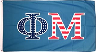 Desert Cactus Phi Mu USA Letter Sorority Flag Greek Letter Use as a Banner Large 3 x 5 Feet Sign Decor