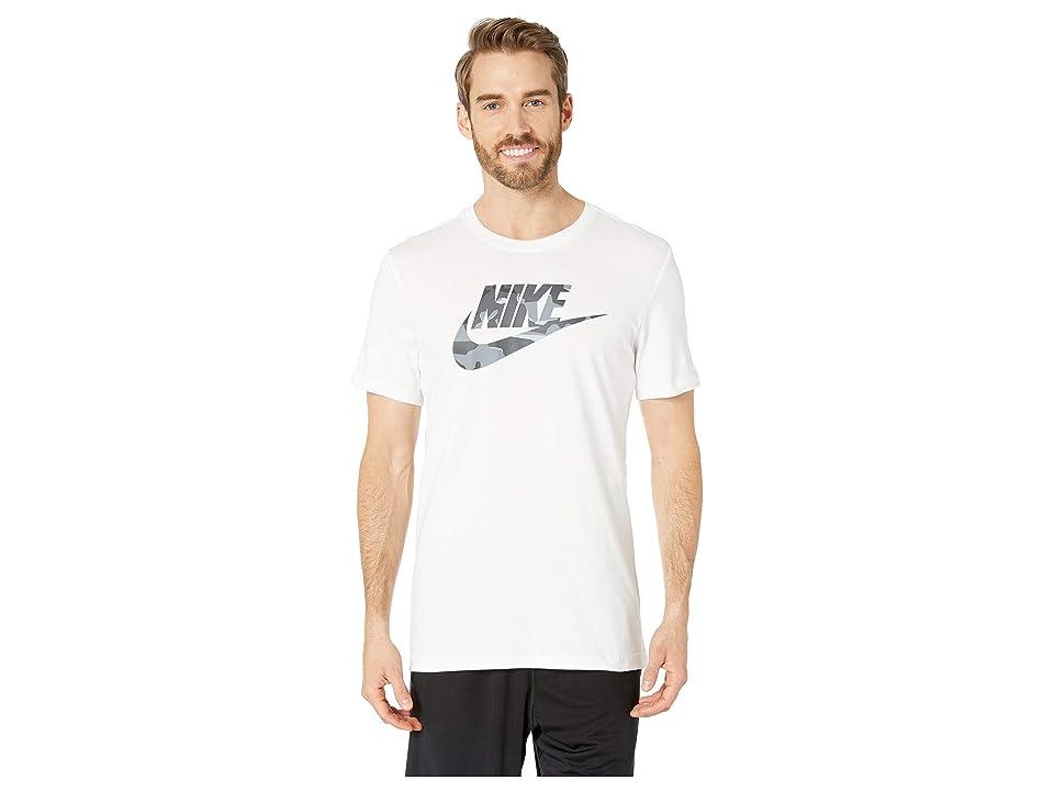 Nike NSW Camo 1 Tee (White/Anthracite) Men