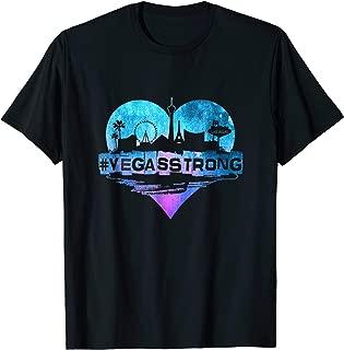 VEGAS STRONG NEVADA PROUD HEART T-SHIRT