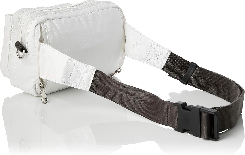 Kipling Abanu Multi, Sacs bandoulière Blanc (White Metallic)