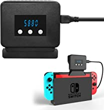 Radiator Base with Cooling Fan for Nintendo Switch, Cooler for Nintendo Switch Docking Station (Cooler for Nintendo Switch)
