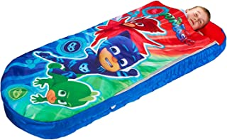 PJ Masks All in One Sleepover Bed - Airbed and Sleeping Bag in One Nap Mat
