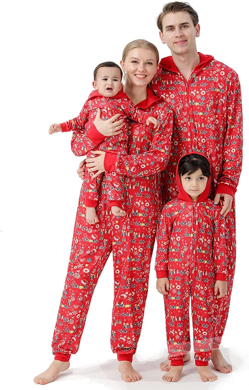 KOPLTYRFG Iinfant Pajama Set Christmas Shipping included Print Sleepw Onesies Soft New Orleans Mall