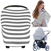 Carseat Canopy Cover – Baby Car Seat Canopy KeaBabies  – All-in-1 Nursing..