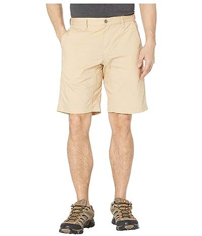 Mountain Khakis Stretch Poplin Shorts Slim Fit (Khaki) Men