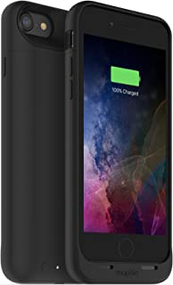 Zagg Mophie Juice Pack Air Wireless, Funda Protectora Con Batería Inalámbrica Para Iphone 7/ Iphone 8 Negro