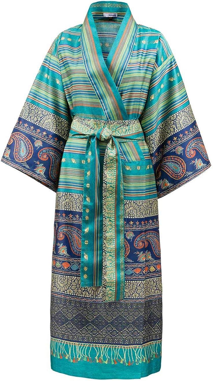 Bassetti Unisex-Kimono Unisex-Kimono Unisex-Kimono Cervino V2 Satin Satin-Frottier B07F9TWLDM a88e01