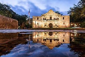 The Alamo Mission San Antonio Texas Historical Photo Photograph Cool Wall Decor Art Print Poster 36x24