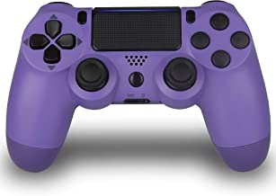 Wireless Controller for PS4- Foster Gadgets PS4 Remote Joystick for Sony Playstation 4 with Charging Cable (Electric Purpl...