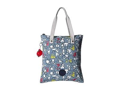 Kipling Disney Mickey Mouse Hip Hurray Totes (Three Cheers) Handbags