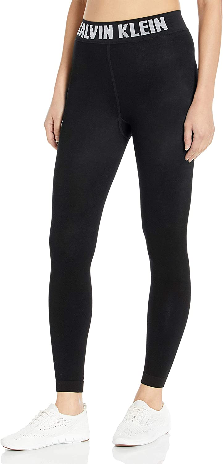 Calvin Klein Women's Excellence Tights – Ranking TOP19 Cotton Black Foot Combed