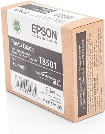 Epson T8501-C13T850100 Foto Siyah Orjinal Kartuş